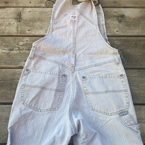 Silver vintage overalls